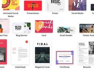 Print and digital design editor