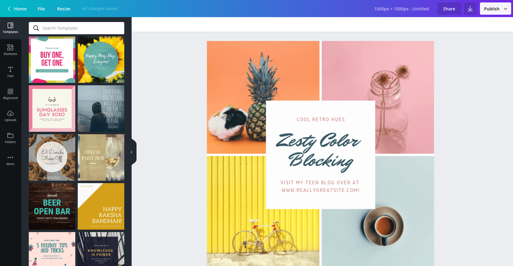 Try Canva - it's free