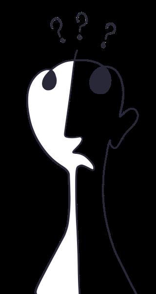 Person Emotion Illustration