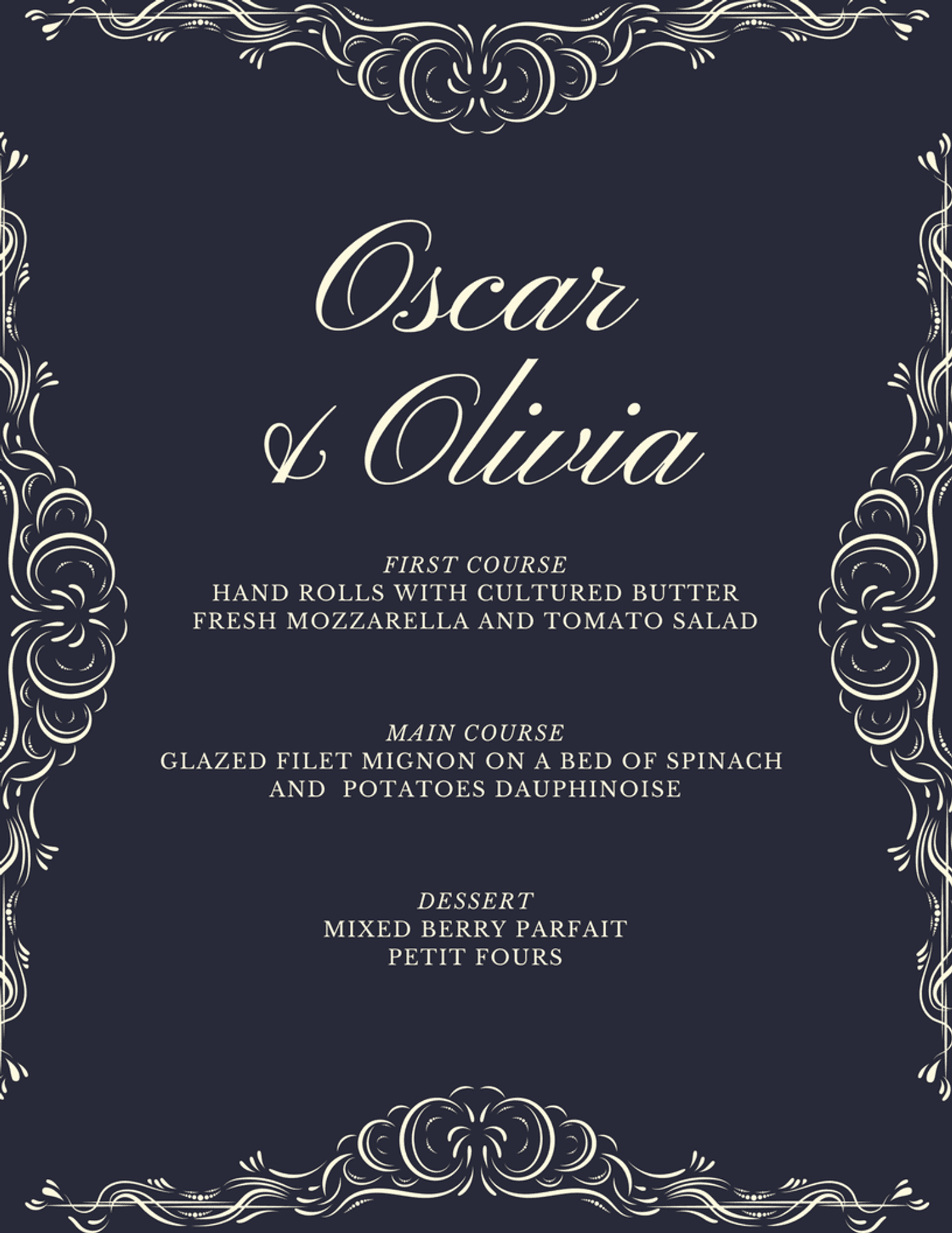 Get The Look Royal Wedding Invitation Templates