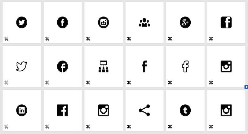 Freepik Social Media Icons