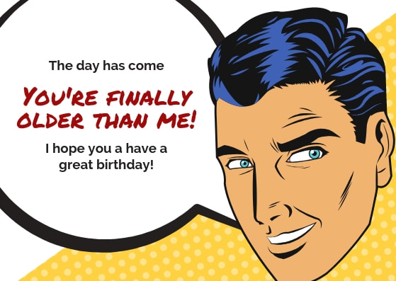 GIGGLES SHITS GREETINGS Funny Greeting Card HAPPY BIRTHDAY BF Humour