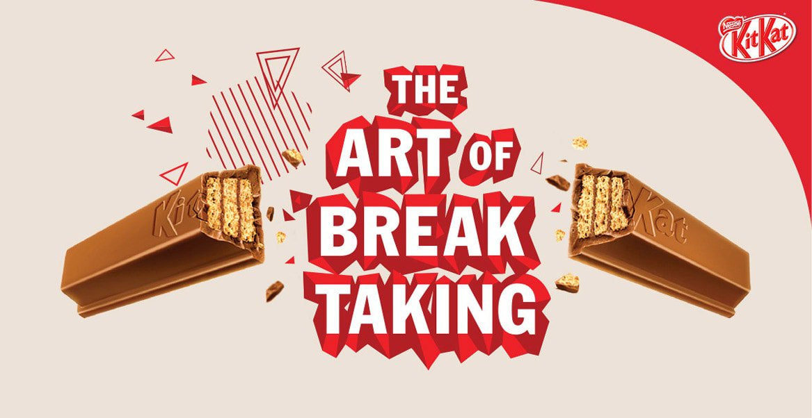 A simple and unique form is the driving force between the branding and success of KitKat