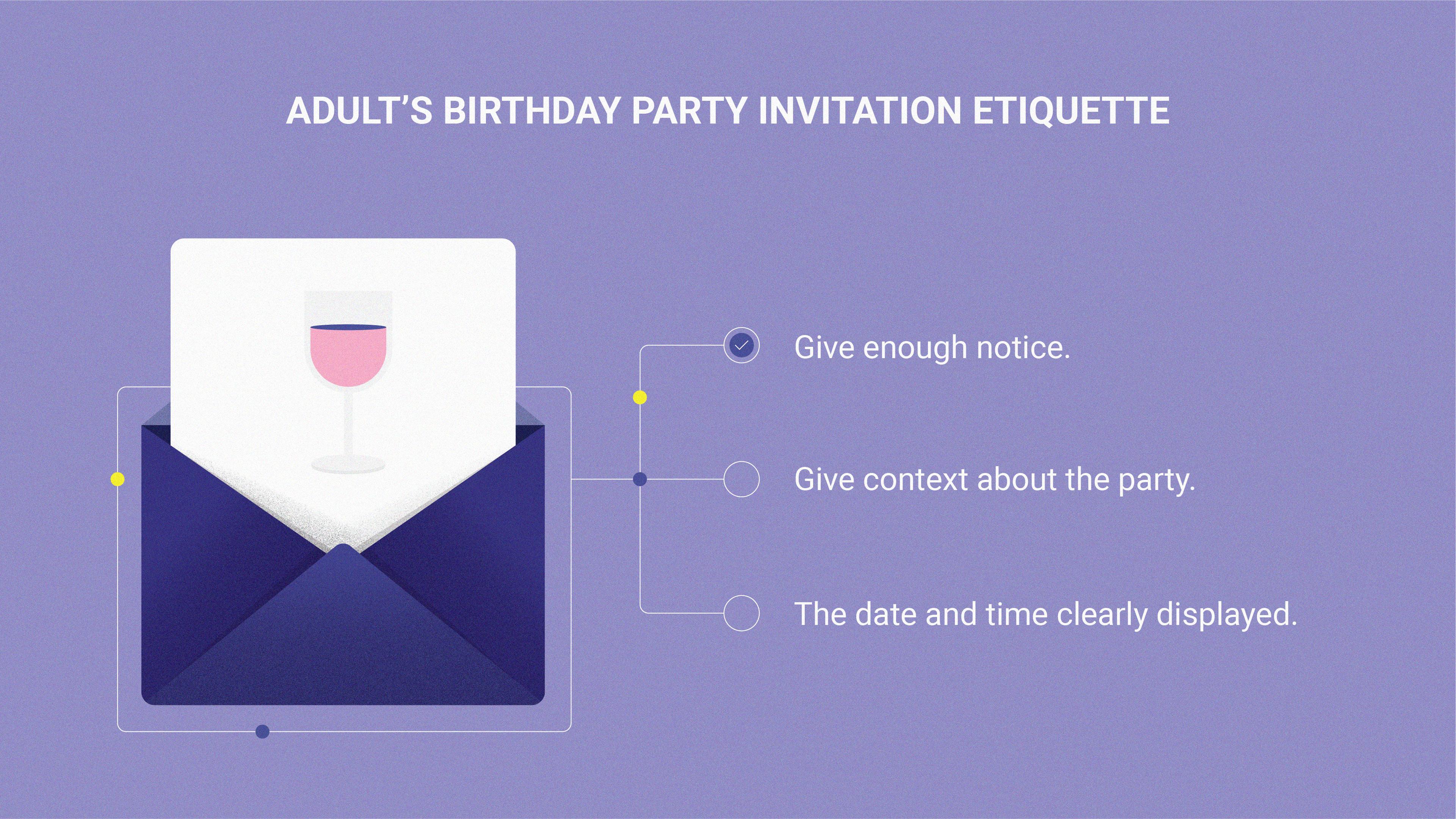 Modern-day invitation etiquette – Learn