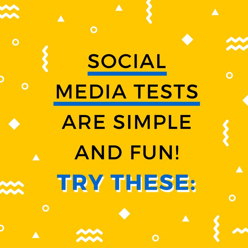 Social Media Test 3