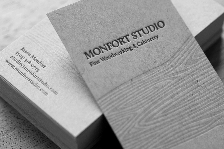 Jason Monfort Business Cards