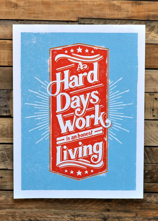 """A Hard Days Work"" by Nathan Yoder"