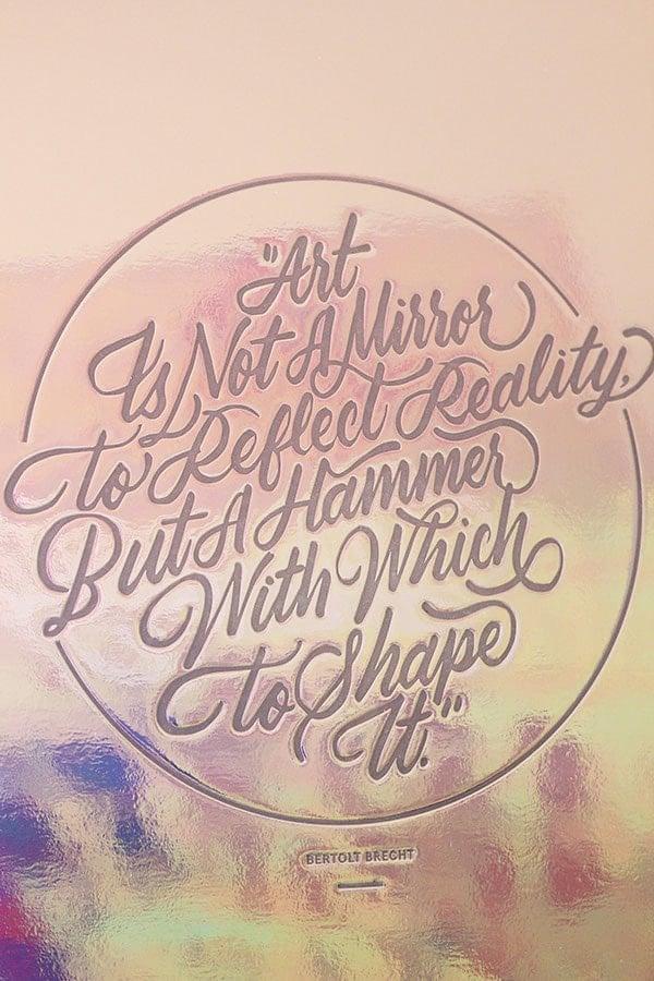"""""""Art Is Not A Mirror"""" by Ricardo Gonzalez"""