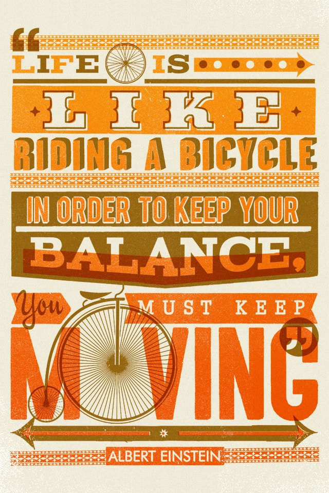 """Bike Quote"" by Telegramme Paper Co."
