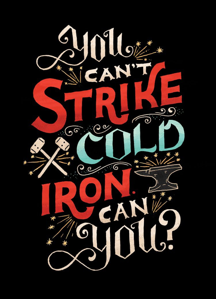 """Strike Cold Iron"" by Mary Kate McDevitt"