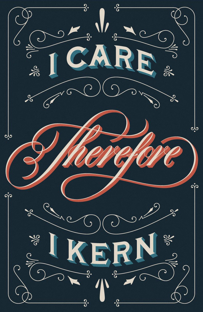 """I Care Therefore I Kern"" by Drew Melton"