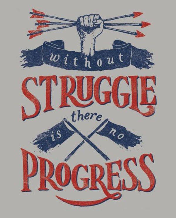 """""""Sevenly Struggle Shirt"""" by Sevenly"""