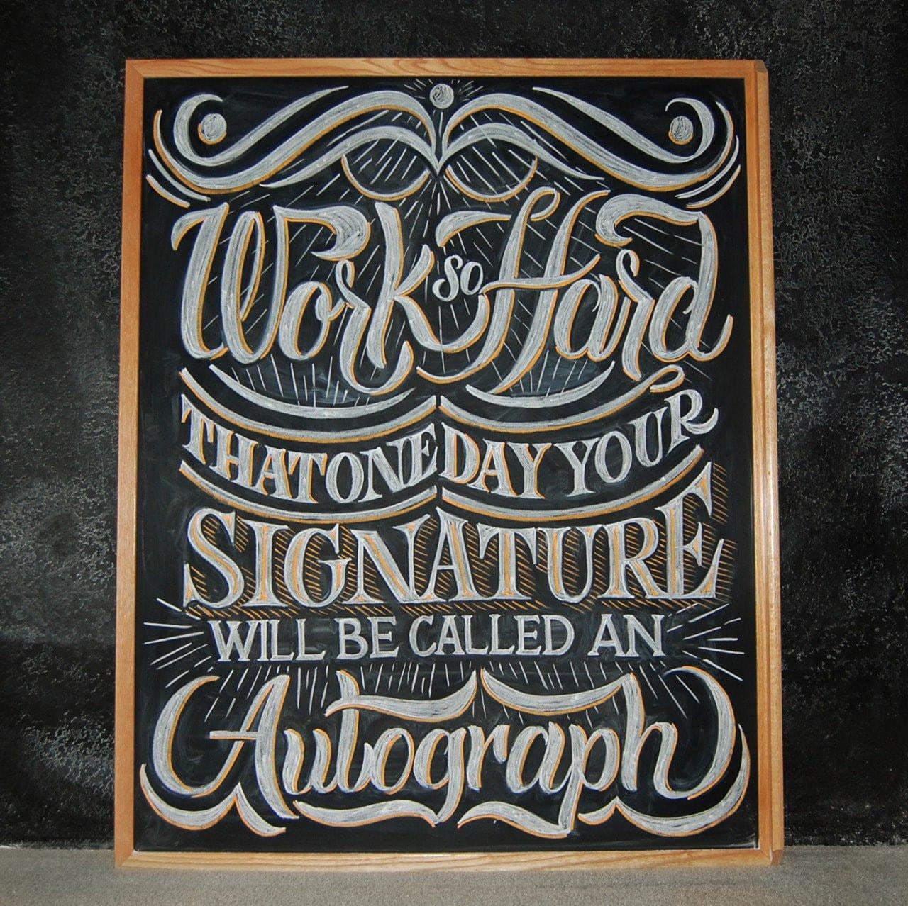 """Work So Hard"" by Scott Biersack"