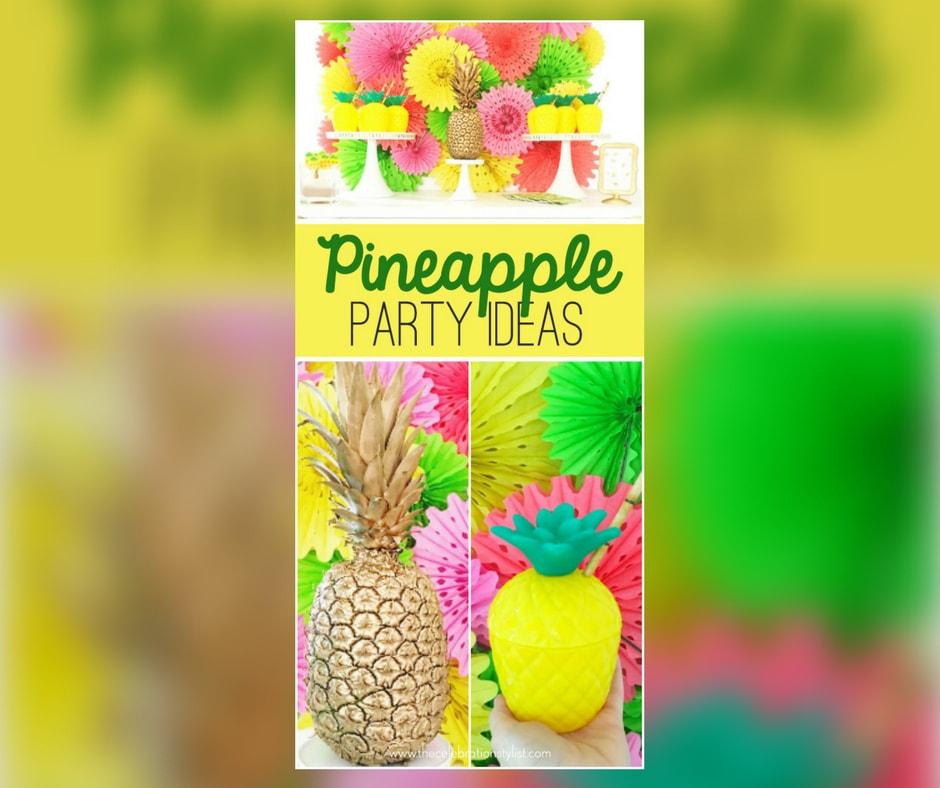 Pineapple Pinterest Celebration Stylist