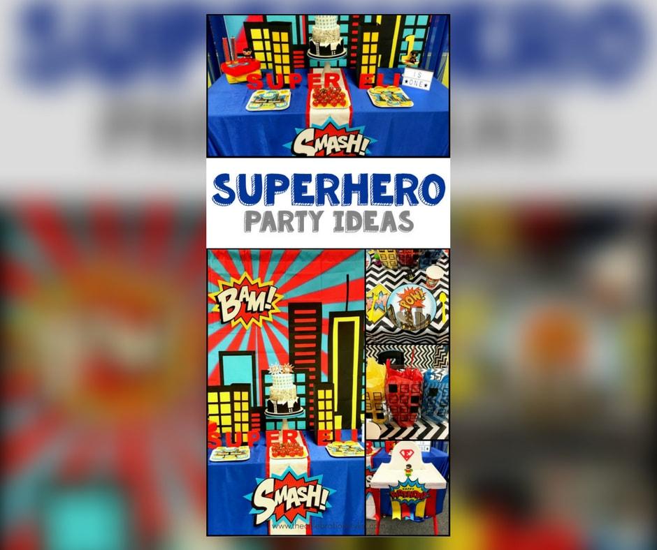 Superhero Party The Celebration Stylist