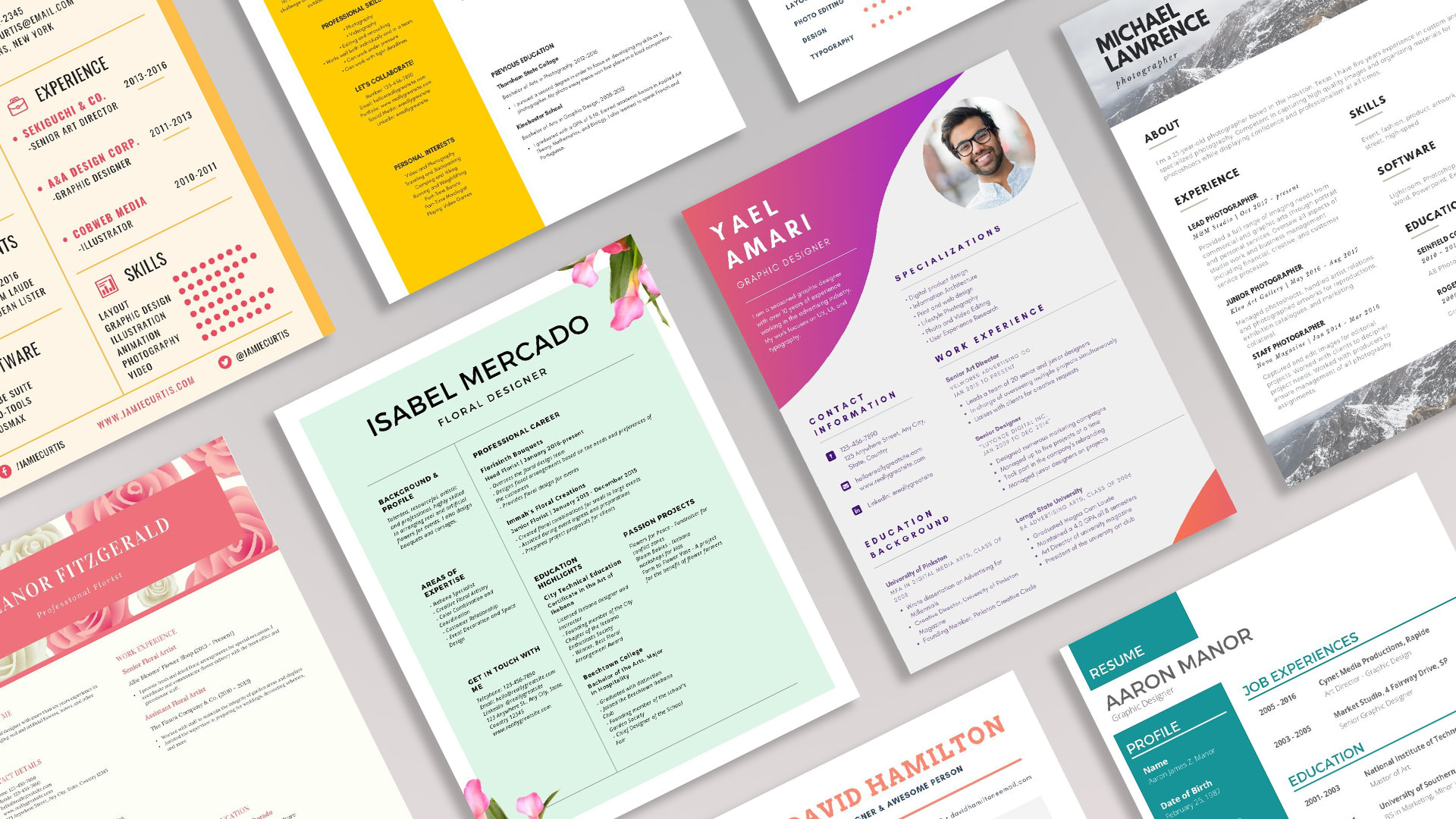 Free Professional Resume Templates To Customize Canva