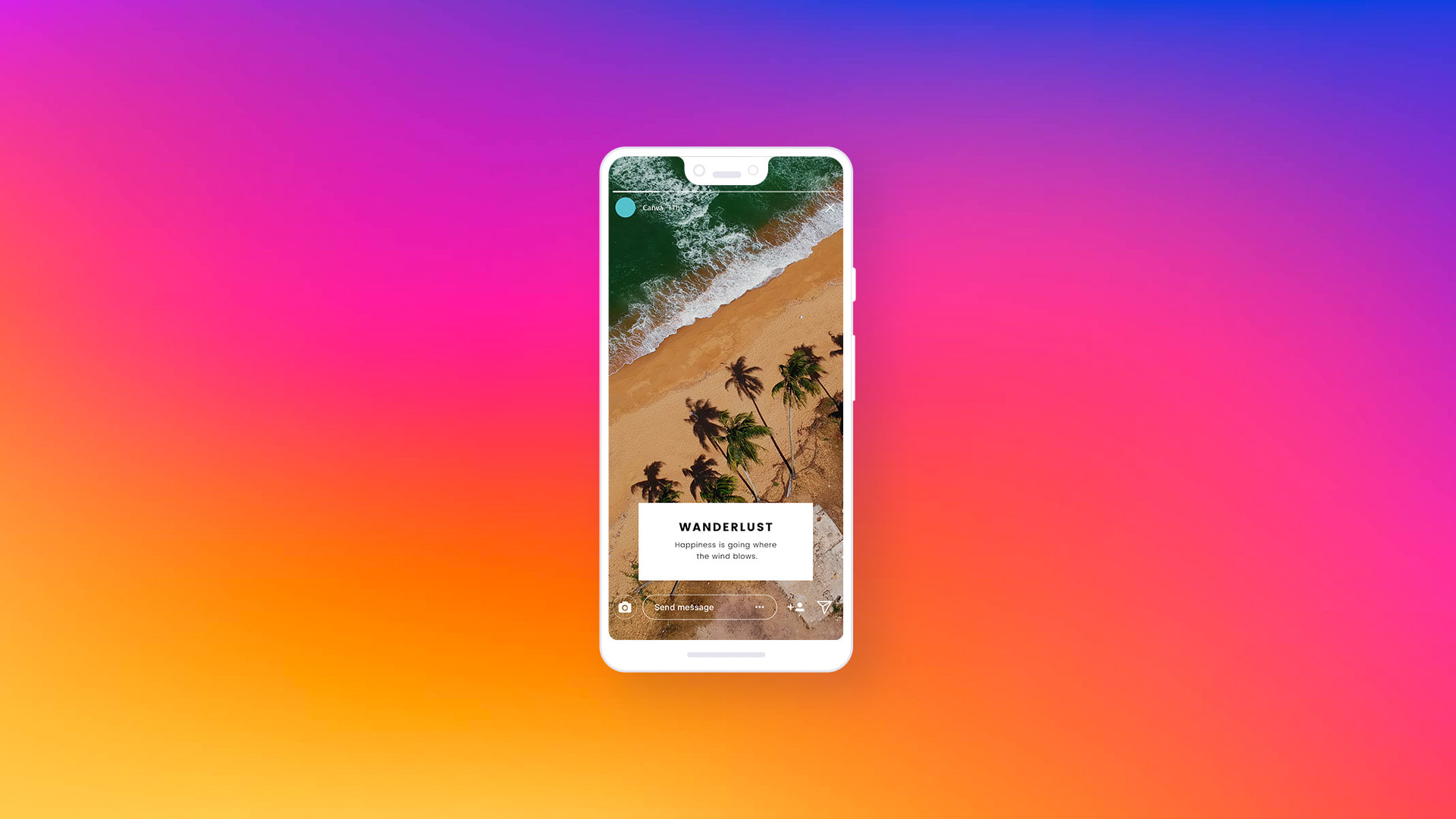 A complete guide to creating an Instagram Story featured image
