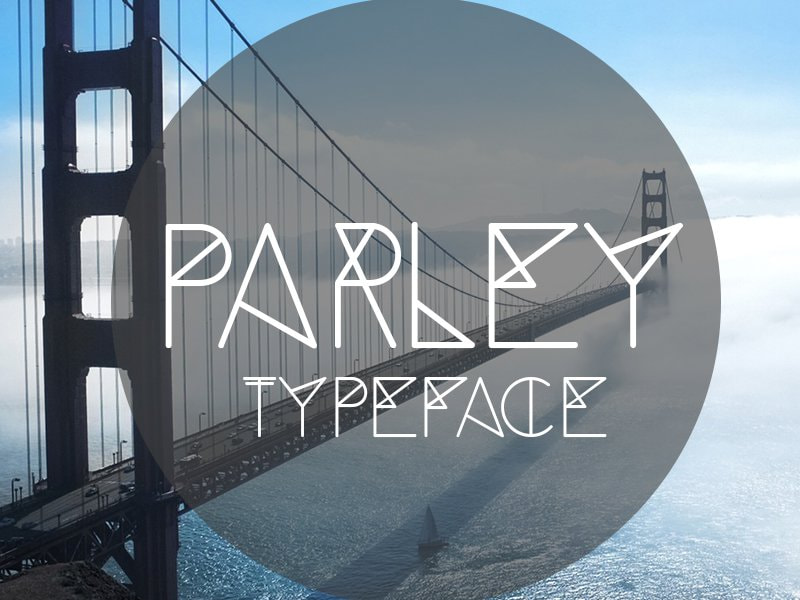Modern fonts for graphic design