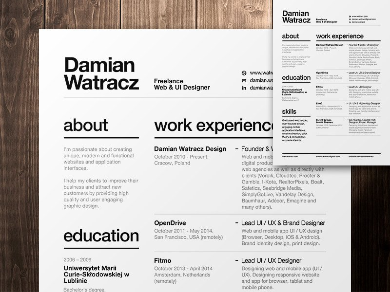 The Best Font For Your Resume According To Experts Canva