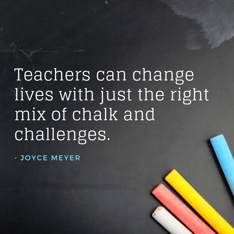 30 Inspirational Quotes For Teachers