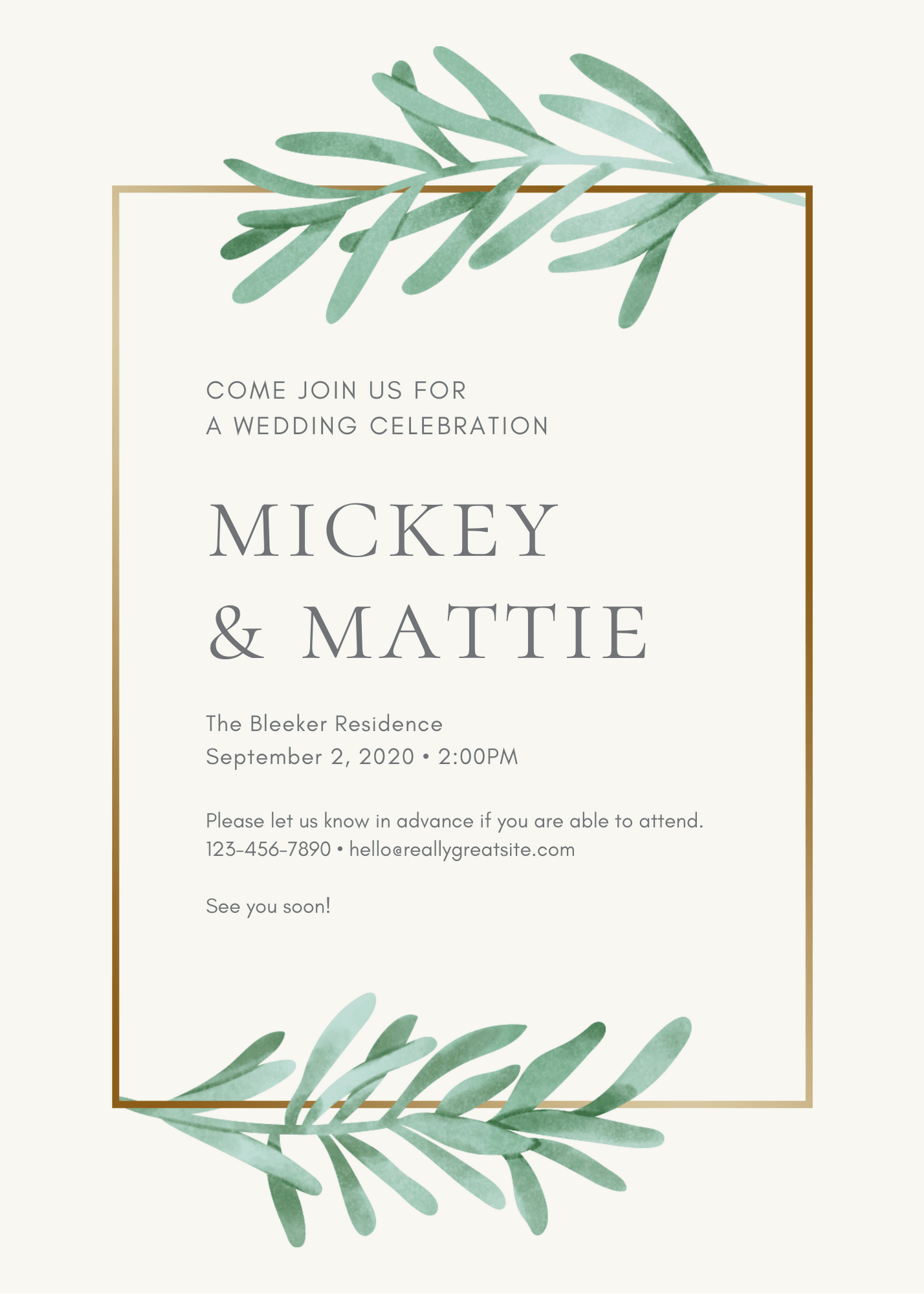 How to design a wedding invitation from scratch
