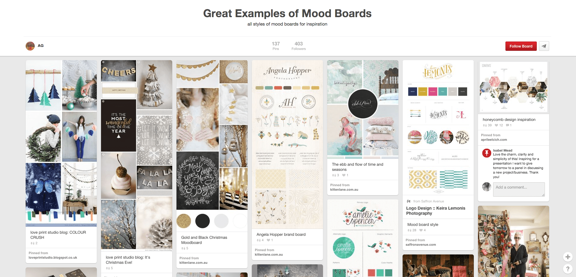 How To Create A Mood Board Canva