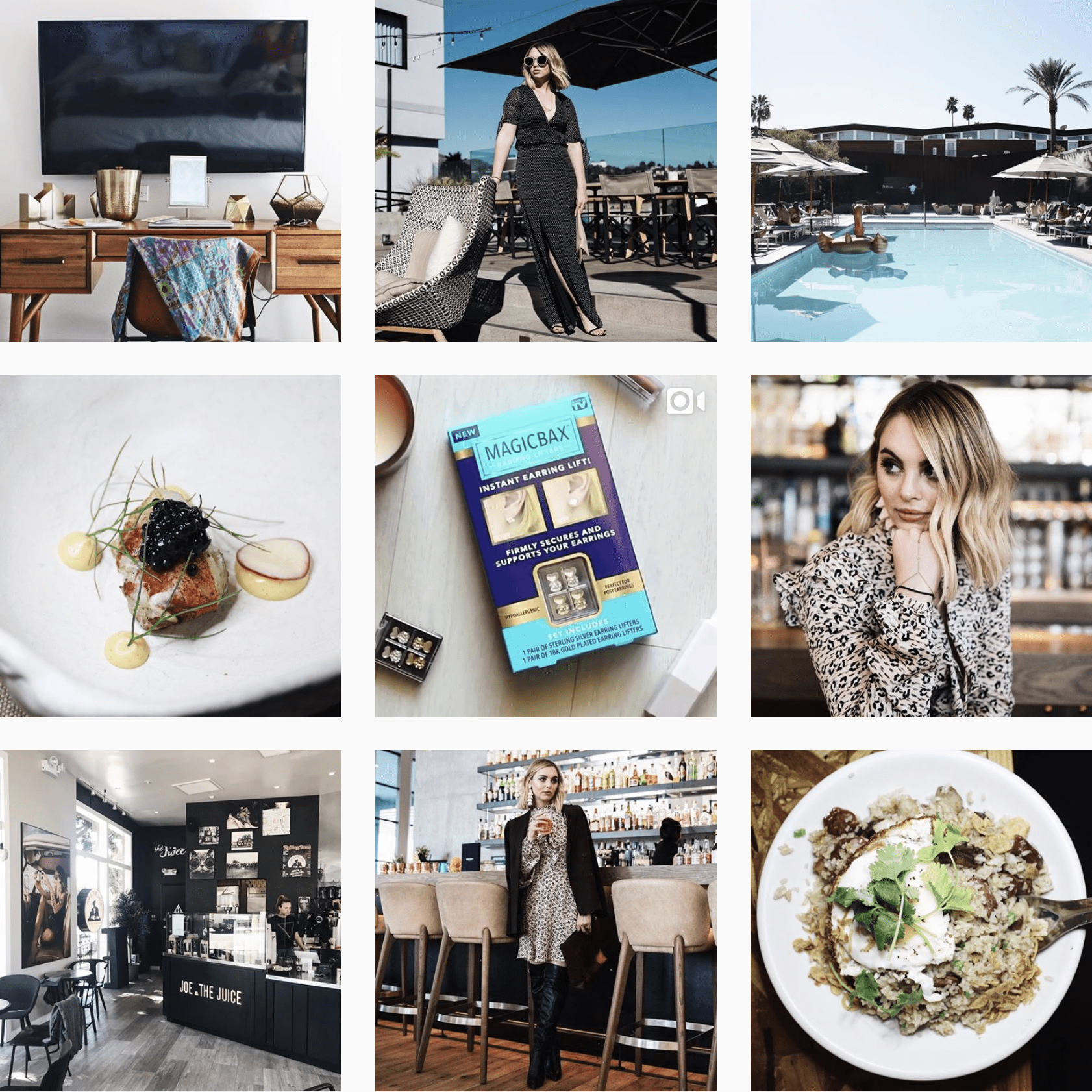 The Editorialist LA Instagram stream