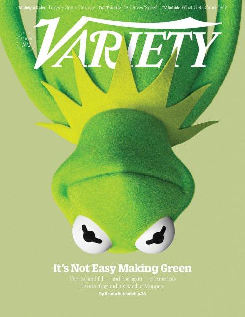 Variety Magazine - Muppet Cover