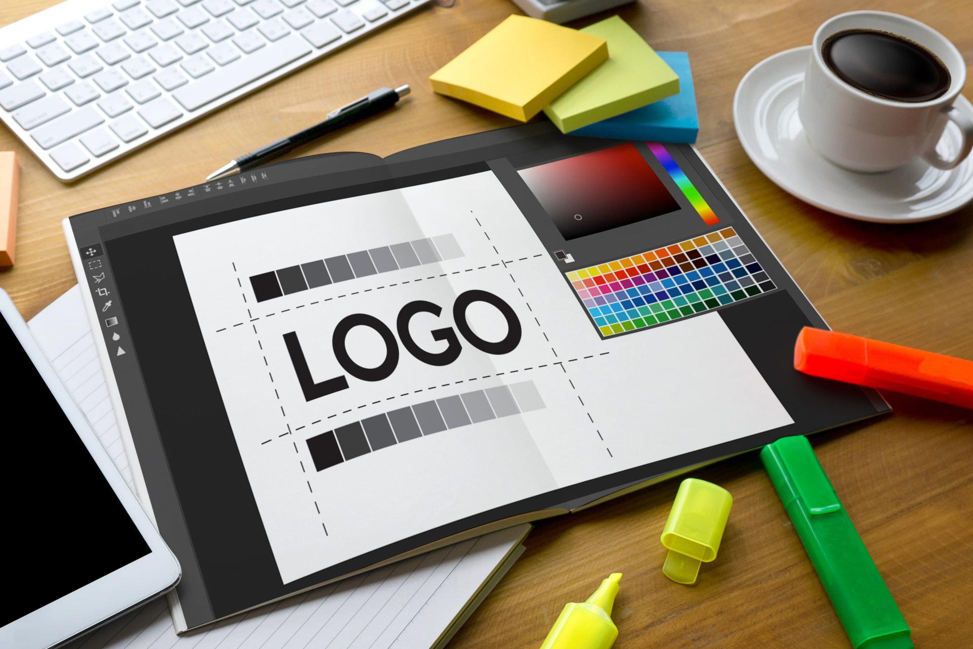 30 flat logo design ideas