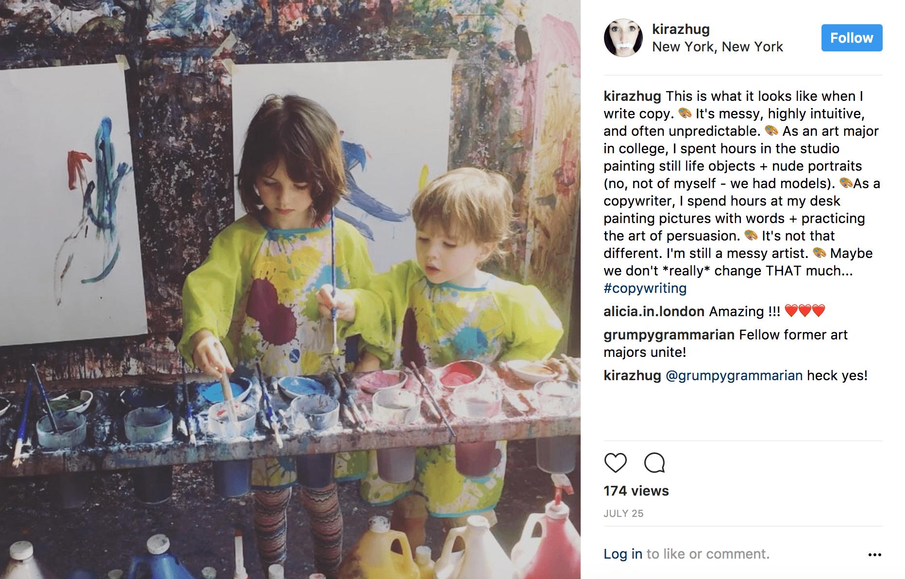 Kira Hug Instagram stream