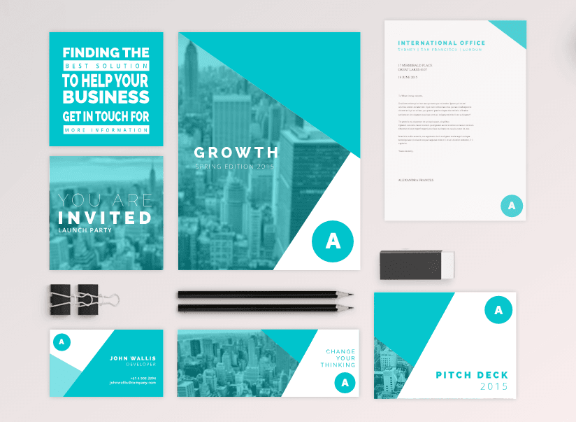 Consistent brand templates1