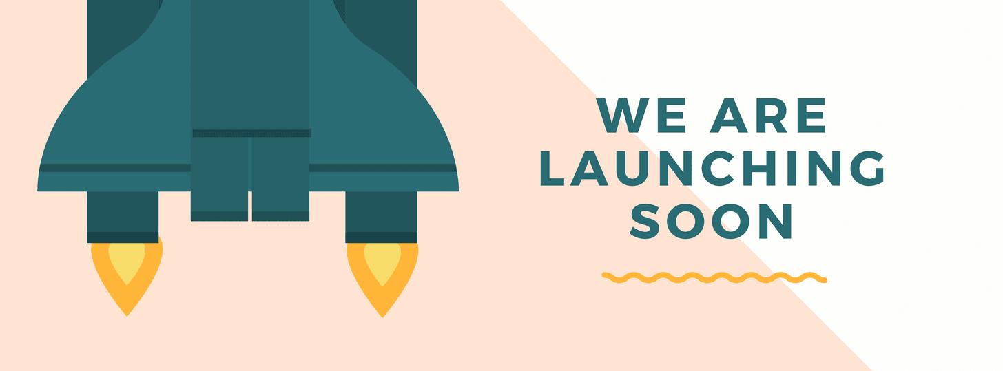 Website Launch Rocketship Facebook Cover Photo