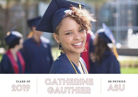 Print Graduation Announcement Photo Card