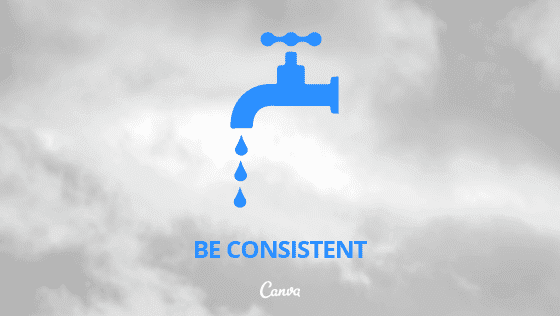 Canva Be Consistent