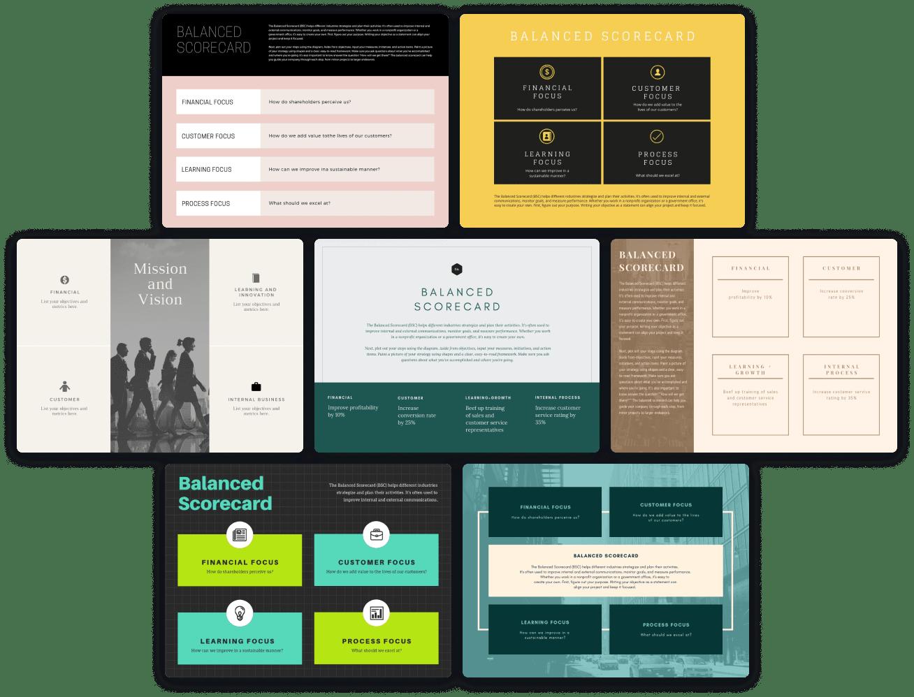 scorecard-templates