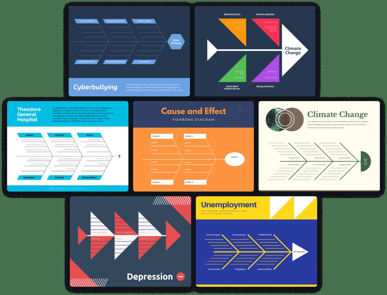 fishbone-diagram-templates