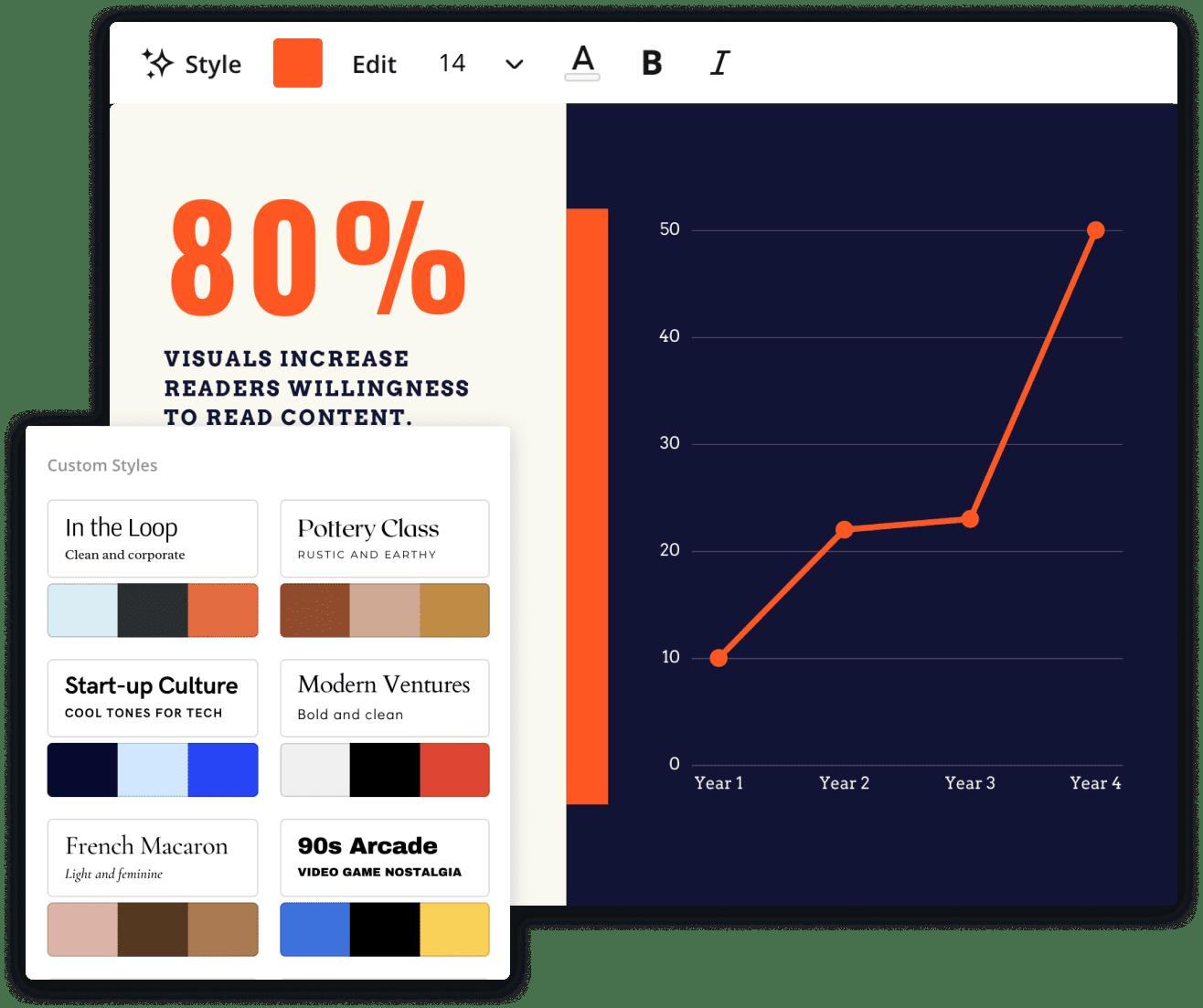 line-graph-styles