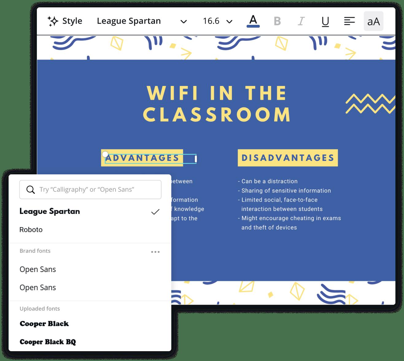 t-charts-font