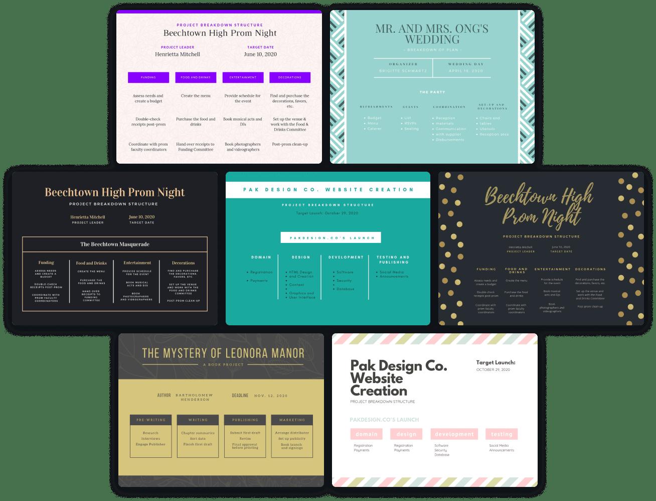 work-breakdown-templates
