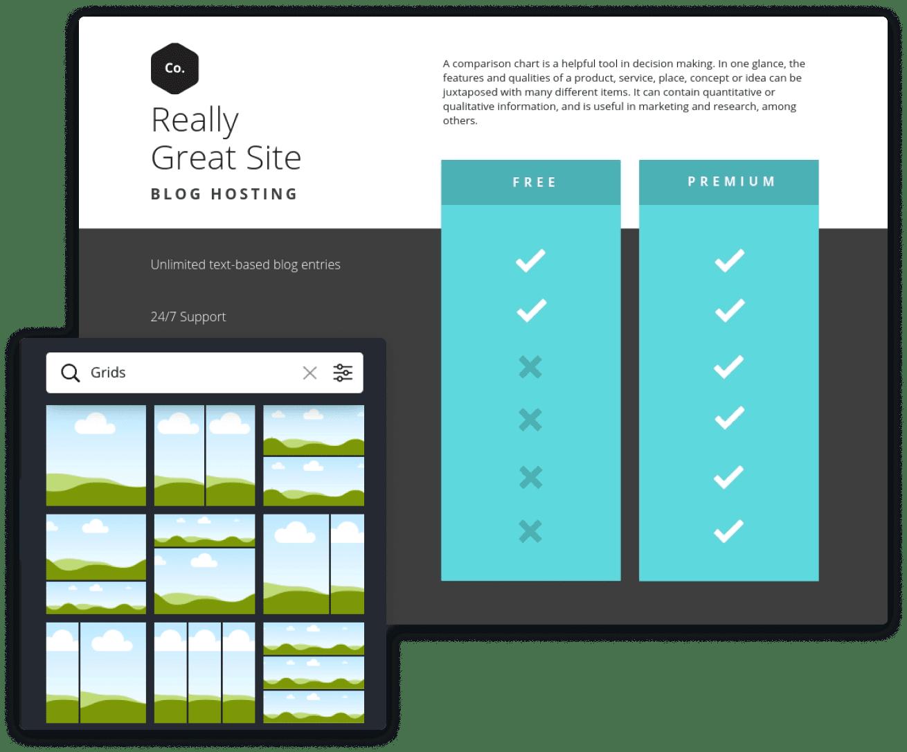 comparaison-chart-grids