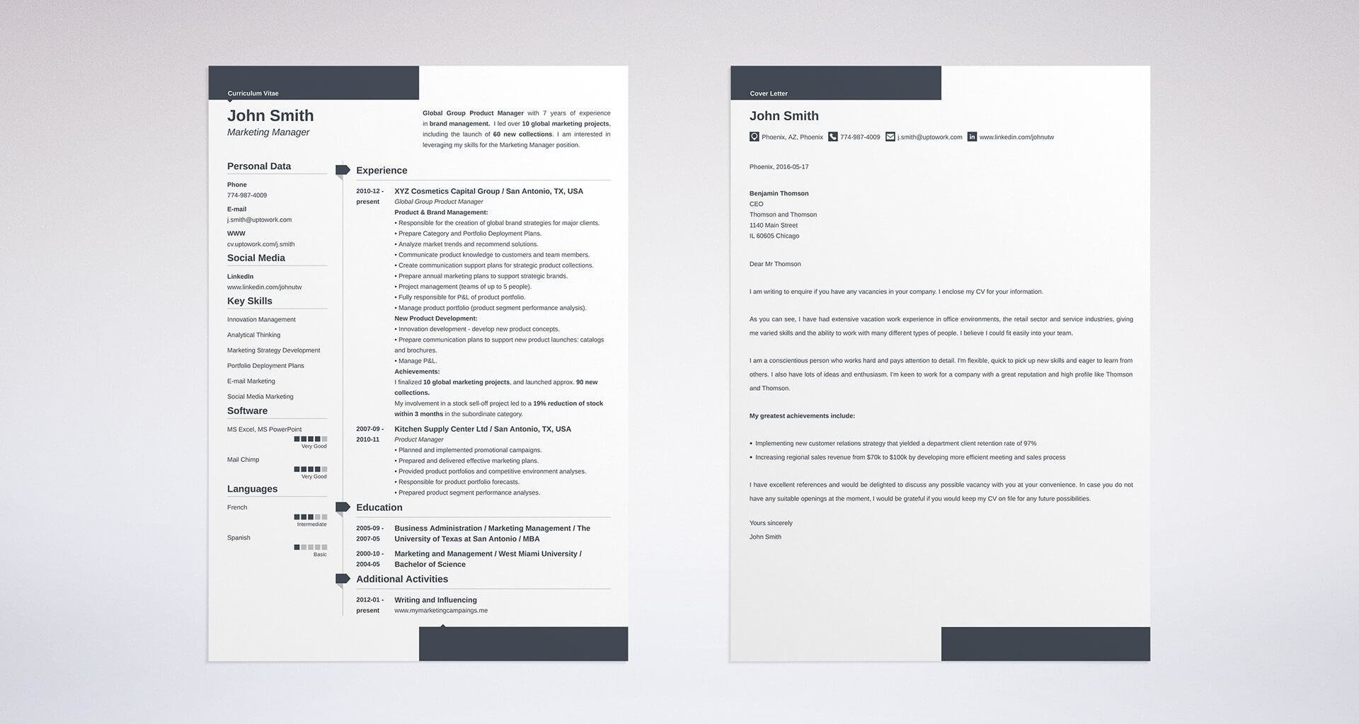 Is A Cv A Cover Letter from static-cse.canva.com