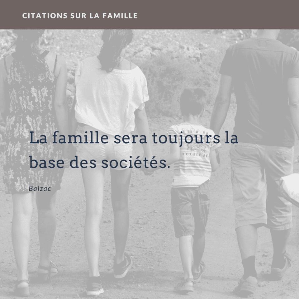 Citation Sur La Famille Originales En Images Canva