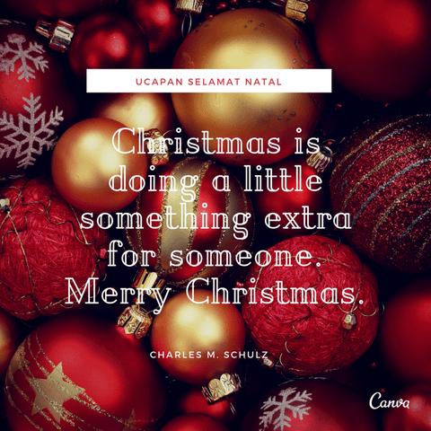 Kumpulan Ucapan Natal Penuh Makna Dengan Gambar Canva