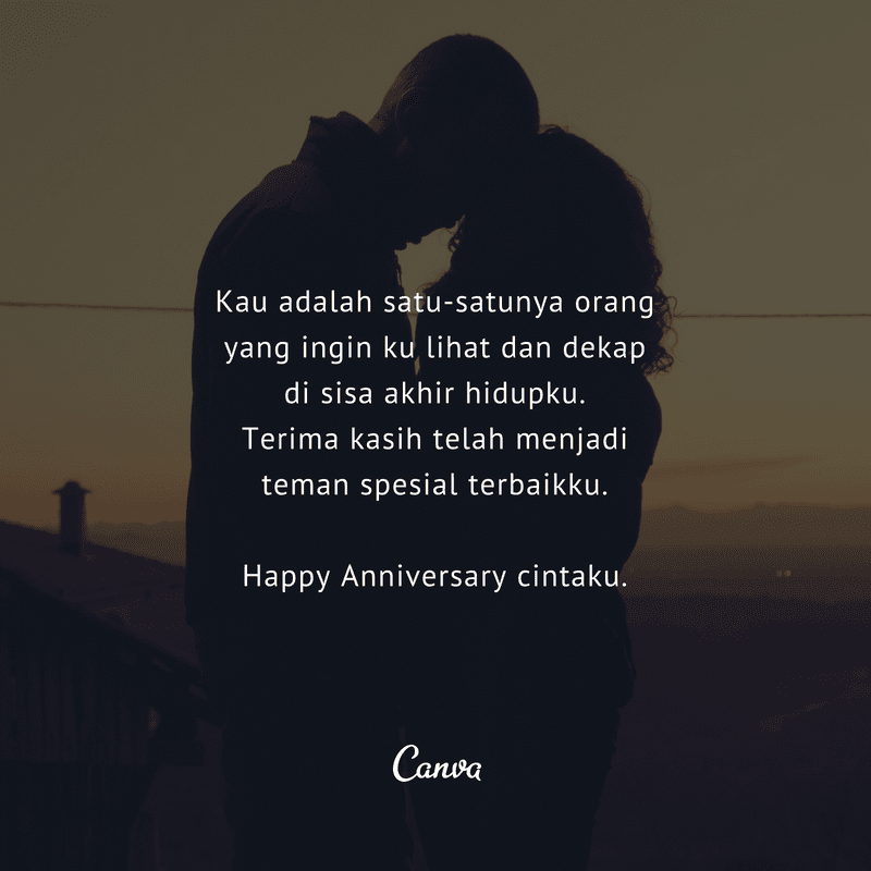 Kata Cinta Anniversary 1 Tahun