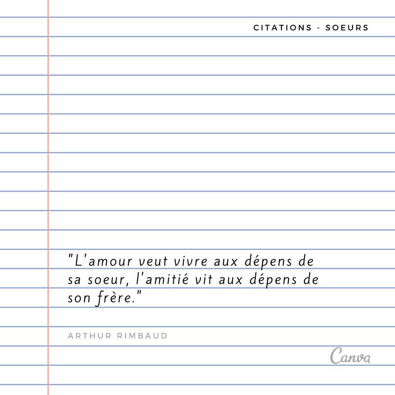Notre Selection Des Plus Belles Citations Sur Les Soeurs Canva