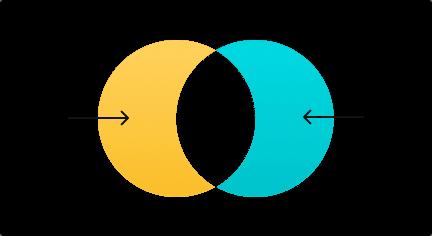 مخطط Venn-الفرق التناظري