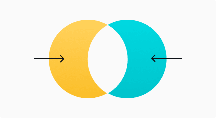 Diferencia simétrica de diagrama de Venn