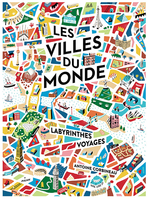 antoine corbineau canva illustration design artiste du mois