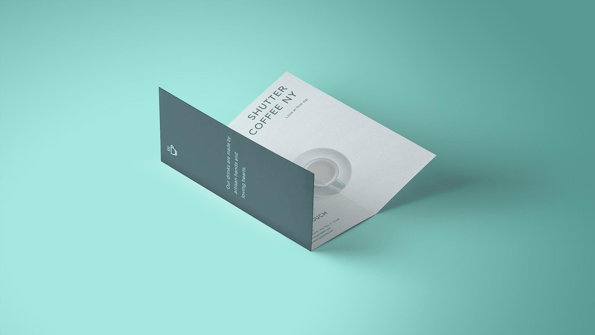 Kreativer Flyer