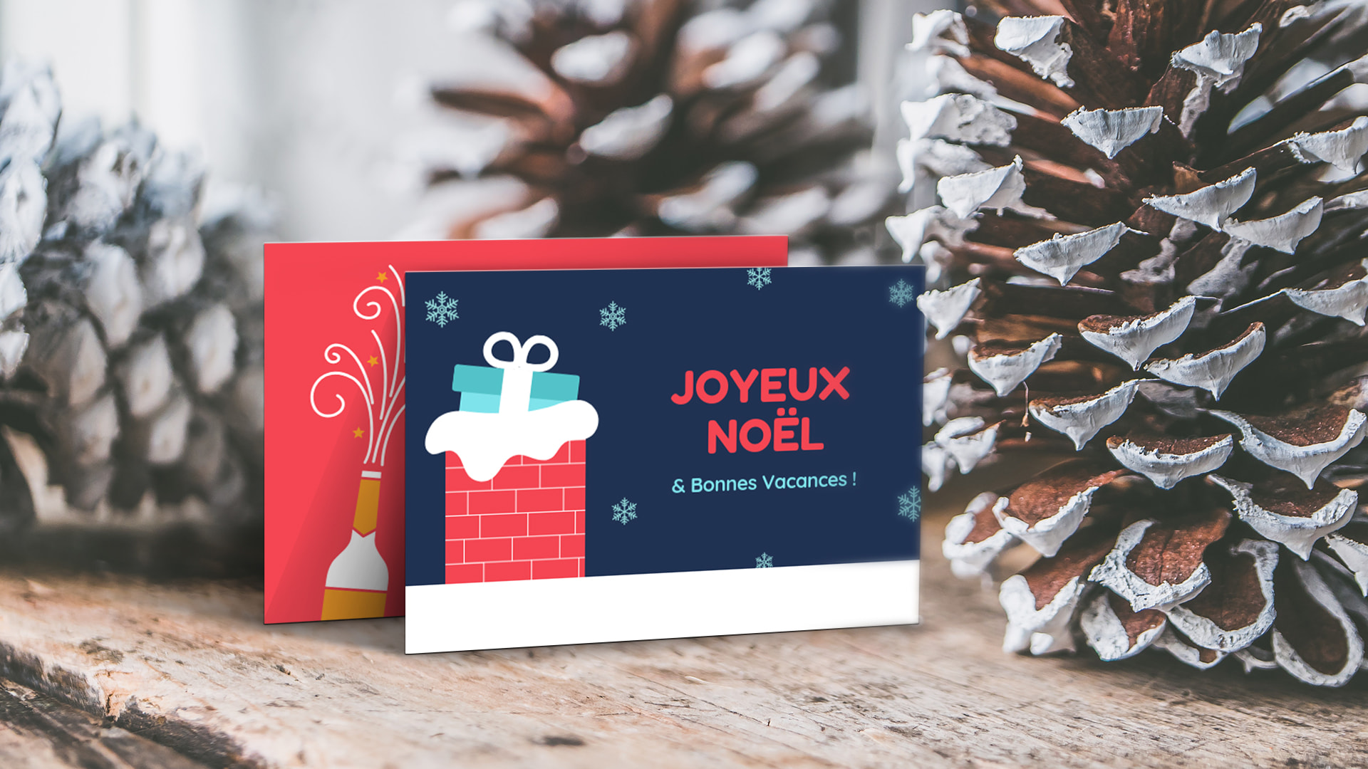 canva, carte de voeux, noel, nouvel an, bonne année